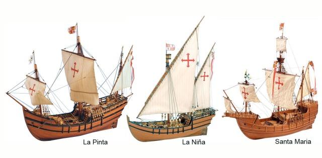 Nina Pinta Santa Maria
